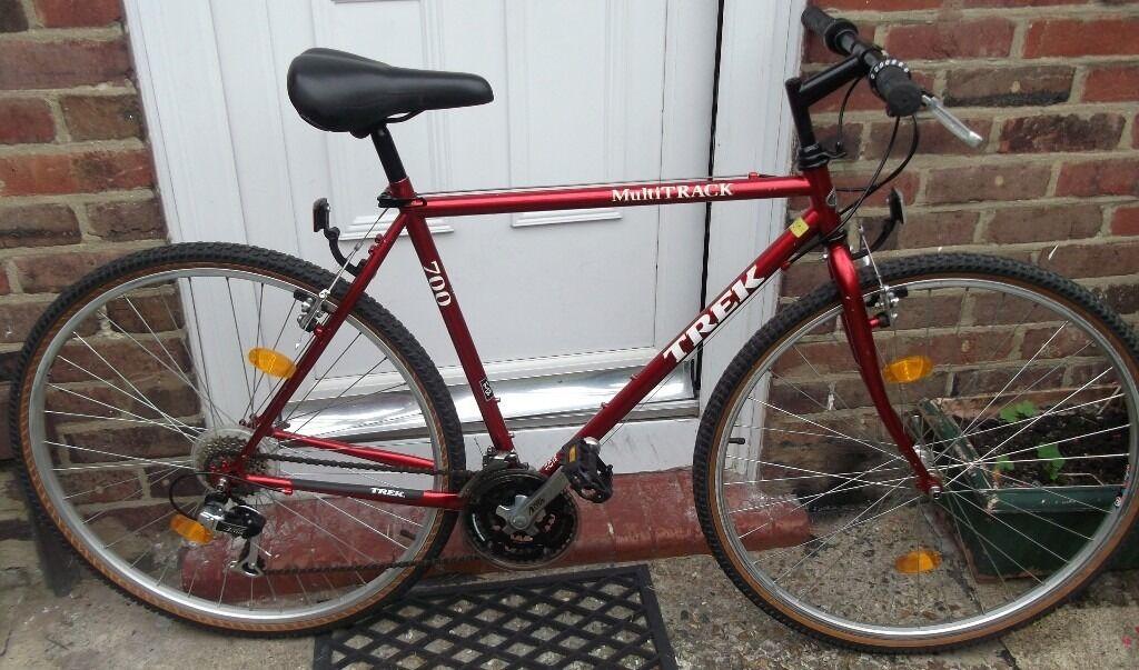 TREK(1993) MULTI TRACK 700 HYBRID BIKE, 21\