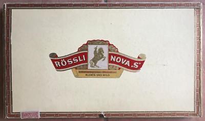 "Zigarrenkiste ""RÖSSLI NOVA S"""