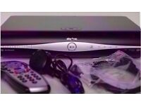 Sky+ HD box with remote , power cable and HDMI lead