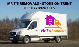 Stoke on Trent Man & Van - House Removals + House Clearance - Furniture Disposal - Office Relocation