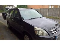 Honda CRV 2007 2.2 Diesel Black service history / 12 months MOT. Well looked after totally reliable