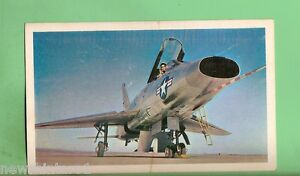 1964-SANITARIUM-AEROPLANE-CARD-34-NORTH-AMERICAN-F-100-SUPER-SABRE