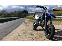 Road Legal Pit Bike Supermoto 160 REG As 125