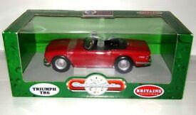 Triumph TR6 Diecast Model Car, Britains - Ertl.