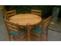 Original Gordon Warr table & Chairs