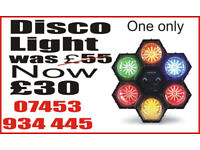 Disco lighting HEX6 Led lights unused in original box Perfect for parties 1 only ultra bright LEDs