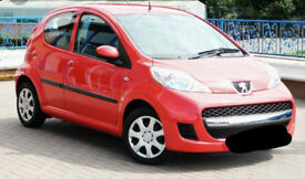 Red Peugeot 107 Automatic 09