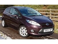 REDUCED..LOW MILEAGE FIESTA 1.25 ZETEC 3 DOOR..NOW ONLY £3990