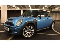 MINI COOPER S, SUPERCHARGED R53, 1.6 PETROL, SAT NAV, LEATHERS, 107K, SLIGHTLY MODIFIED!