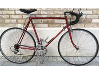 60cm Classic Raleigh Clubman Bicycle Reynolds 531 Large frame racing race road bike