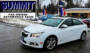 2012 Chevrolet Cruze LT RS TURBO | CLEAN CAR-PROOF | SUNROOF | A