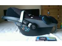Quinny buzz extra carseat and carrycot