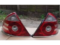 Back lights driver with chrome strip,pair,complete bulbs - £35