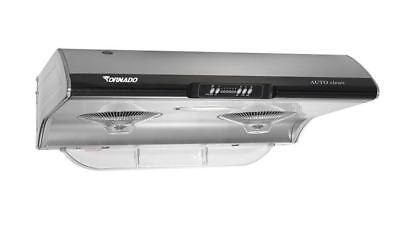 "Modem decor TORNADO 30"" RANGE HOOD Stainless Steel AUTO-CLEAN 850 CFM"