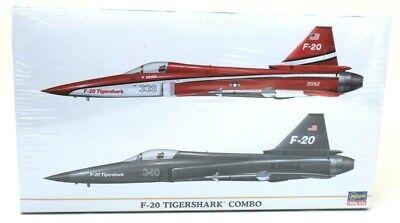 Hasegawa F-20 Tigershark Combo 1/72 Model Kit 00967 for sale  Williston Park
