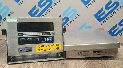 Gse Scale Systems Model 450 W Rice Lake Bm10100s-2 Weighing Scale
