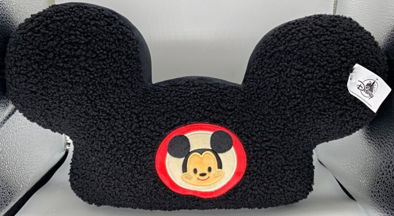 Disney Parks x Jerrod Maruyama Mickey Mouse Ears Hat Throw Pillow Decorative