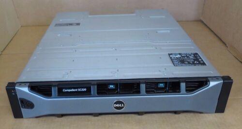 Dell Compellent SC200 24TB 12x 2TB 7.2K 2x SC2 EMM Controller Expan Enclosure