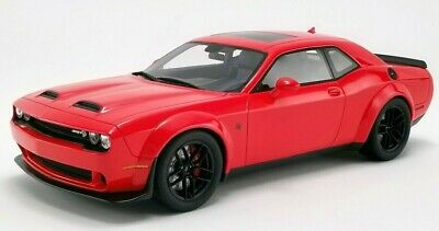 2019 Dodge Challenger Hellcat REDEYE Widebody Tor Red 1:18 GT Spirit IN STOCK!