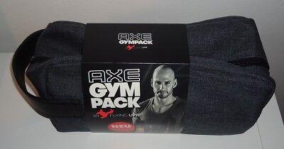 Spray-flasche Set Pack (Axe Gym Pack Geschenkset Deo Body Spray & Shower + Trinkflasche + Kulturtasche)