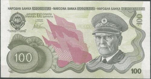 Yugoslavia 100 Dinars 1990. P-101a. Unissued Note. Rare. UNC.