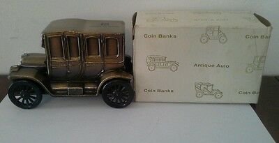 Banthrico 1912 Antique Packard Car Peoples United Coin Bank    Mint