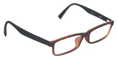 J!NS MRF-15A-505B 85D Brille Braun gemustert/Schwarz glasses FASSUNG JINS (Jins Brille)