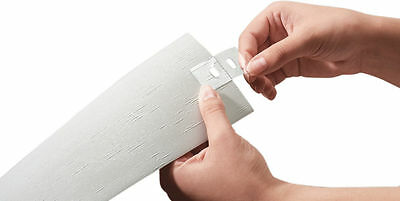 NEW Vertical Blind Repair Tabs 5 Pack Transparent Parts Replacement