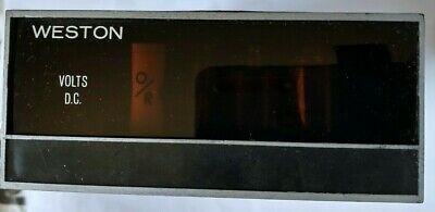 Weston Volts Dc Model 1260 1260s Nixie Tube Panel Meter