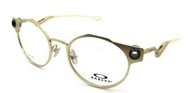 Oakley Rx Eyeglasses Frames OX5141-0450 50-19-134 Deadbolt Satin Gold Titanium