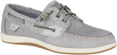 Used, Sperry Women's Songfish Wool Boat Shoe Size 6M Grey, STS82427 for sale  Shipping to South Africa