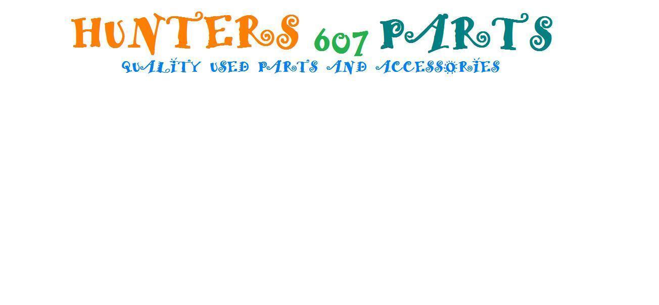 Hunters 607 Parts