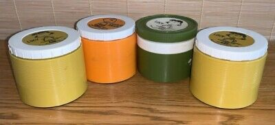 Vintage 1969 Peanuts Soup Thermos Lot of Four
