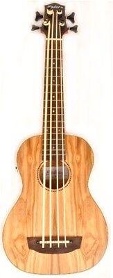Hadean Bass Uke UKB-24 Electric Bass Uke - U-Bass Ash