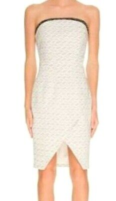 NEW & TAGS Keepsake The Label BRAND Symphonies Dress Weave - Size S = 8 RRP $180