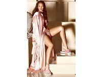 Sold out size 6 pink fenty puma fur slides