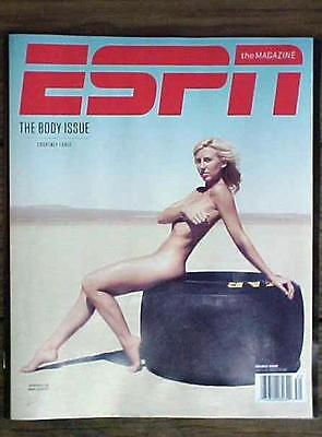 ESPN Magazine Body Issue 2013 Courtney Force NHRA Nitro Funny Car Driver Model