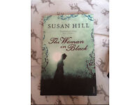 The woman in black book with GCSE notes inside
