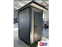 1,6 x 1,5 m Sanitary container / Toilet pavilion with WC