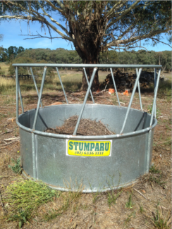 Round Bale Cattle/Horse feeder