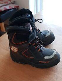 Skechers boys winter boots
