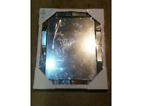 Mirror with Bevelled Edges (Brand new still in packing )