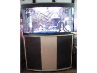 Tropical Fish Tank with lots of Accessories for sale