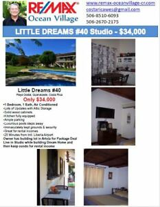 Comfortable condo and land for sale in Guanacaste Costa Rica