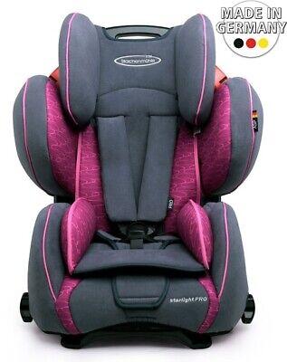 Storchenmühle STM Auto Kindersitz Starlight SP Pro in Rosy, Gruppe 1-3, 9-36kg