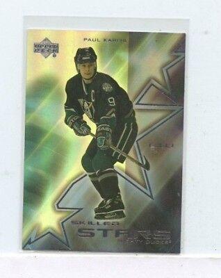 PAUL KARIYA 2001-02 UPPER DECK SKILLED STARS #SS1