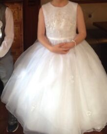 Beautiful First Holy Communion dress