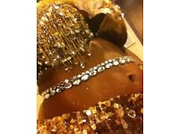 Belly dancer for belly dance classes, hen parties or Christmas events