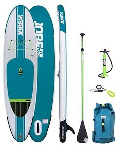 USED ONE TIME  JOBE YARRA 10.6 INFLATABLE SUP PACKAGE
