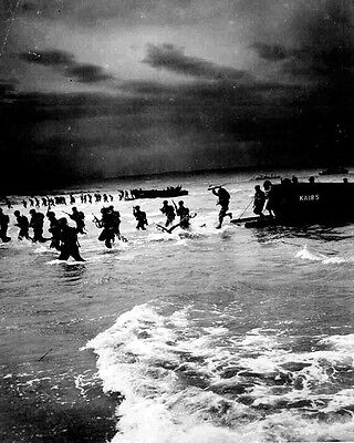 Allied Troops Landing North Africa Operation Torch 8 X10  World War Ii Photo 613